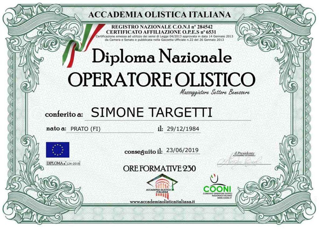 Diploma Operatore Olistico